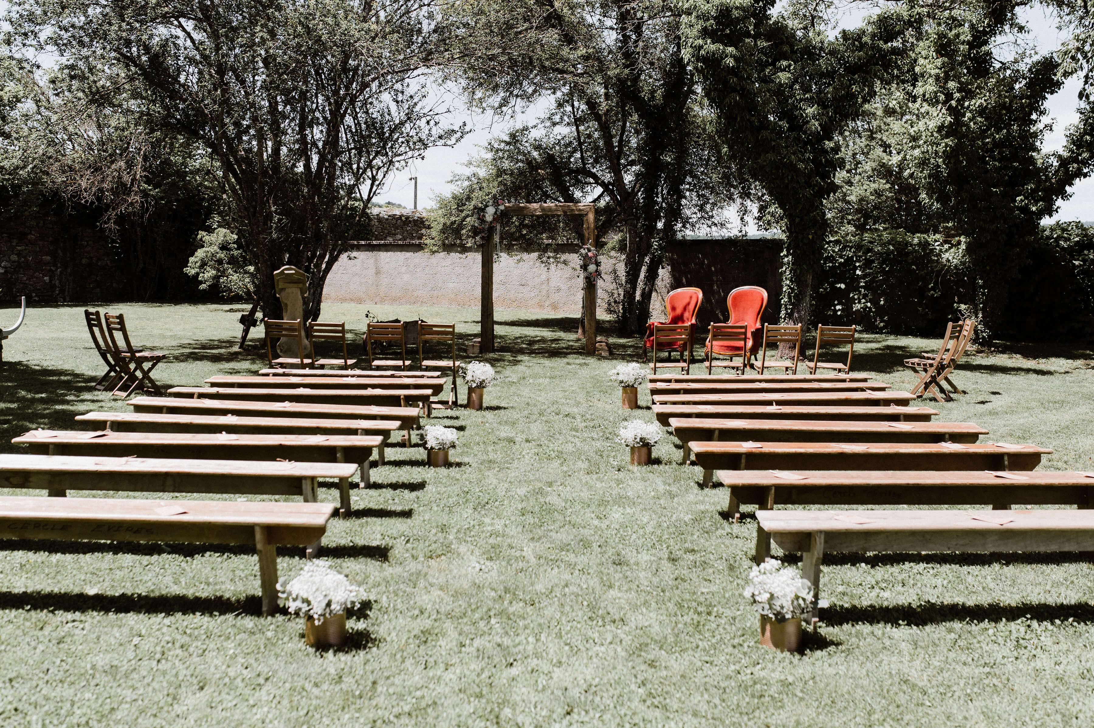 mariage plein air